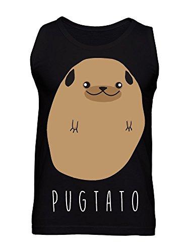 Pugtato - Half Pug, Half Potato Men's Tank Top