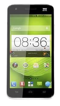ZTE Grand S Smartphone - 5 Inch FHD 1920x1080 Gorilla Glass Screen, Android 4.2 OS, Quad Core 1.5GHz CPU