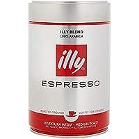 illy Espresso Medium Roast Ground Coffee, 250g