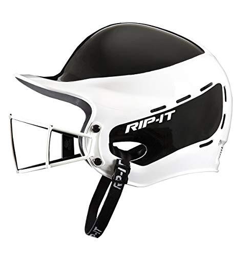 Rip-It Vision Pro Away Softball Batting Helmet (Away Black, Extra Large)
