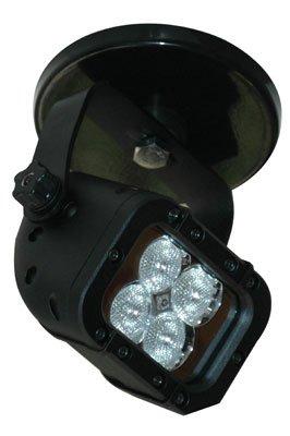LED Machine Light - 200lb. Magnetic Mount - 90'L X 70'W Beam - 12 Watt - Runs Off 110VAC(-White-Floo