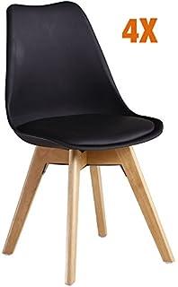 Set Von 4 Metall Esszimmer Stühle | Möbelideen Esszimmer Set Grau Weiss