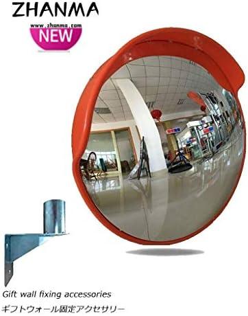 カーブミラー 屋外交通安全アンチコリジョンミラー地下ガレージは、ベンドプレミアム凸面鏡60センチメートル80センチメートルを回し取付金具を送ります RGJ12-10 (Size : 120cm)