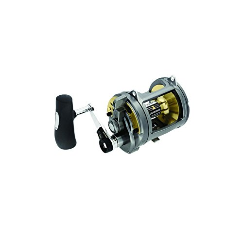 Shimano Big Game Reel - Shimano Tyrnos 50 2 Speed LRS Long Range Special Offshore Seafishing Multiplier Trolling Fishing Reel, TYR50IILRS
