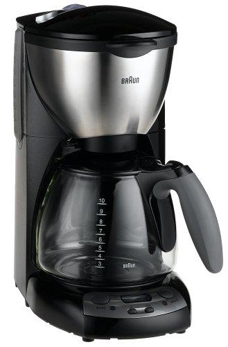 Braun KF590 Impressions Digital 10-Cup Programmable Coffeemaker