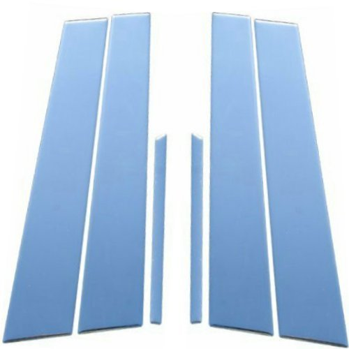 Fits Lincoln Town Car 1998-2002 Stainless Steel Chrome Pillar Posts Trim 6PCS ()