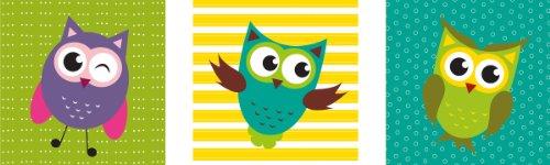 Цвет: смешные совы