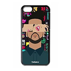 Custom Case for iPhone 5c w/ The Weeknd image at Hmh-xase (style 10)