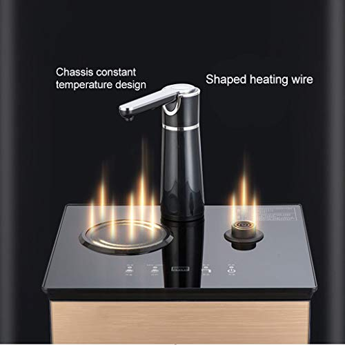 Hot Water Dispensers Household Vertical hot Water Dispenser Bedroom Water Dispenser Cold and Heat Energy Saving Small Multi-Function Automatic hot Water Dispenser Intelligent hot Water Dispenser by Combination Water Boilers Warmers (Image #3)
