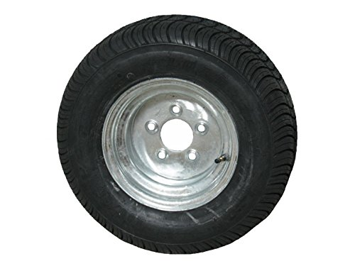 Kenda Loadstar 2 215/60-8 LRC Bias Trailer Tires & Wheels Galvanized 5-4.5 18.5x8.50-8