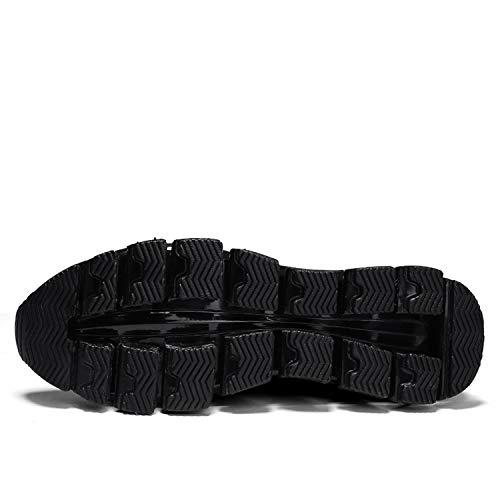 Moda Uomo Stile Giovane Lama Qzbaoshu Scarpe Sneaker Nero q7ZfwEOB