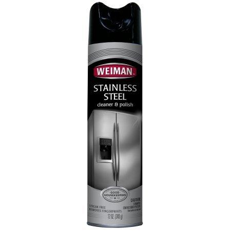 Weiman Stainless Steel Cleaner & Polish Aerosol - 12 oz (5)