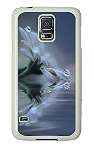 Samsung Galaxy S5 nature flower colorful 26 PC Custom Samsung Galaxy S5 Case Cover White