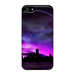 HPp984YImM Snap On Case Cover Skin For Iphone 5/5s(downtown)