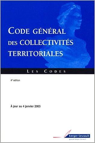 Téléchargements de livres électroniques gratuits Code général des collectivités territoriales PDF FB2 2701314151