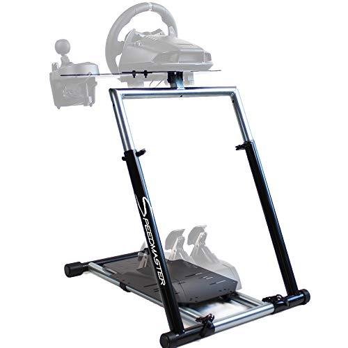 SPEEDMASTER ® Wheelstand GT - Steering Wheel Mount Massiv incl  Gearshift  Mount - Wheel Stand - Black - for Logitech G29 G920 G25 G27, Thrustmaster