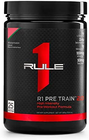 R1 Pre Train 2.0 25 Serv Watermelon Splash, 390 Gram