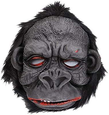 Amosfun Máscara de Gorila Máscara de simulación Máscara de Horror ...