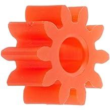 Ajax Scientific Plastic Gear with 10 Teeth (Pack of 10)