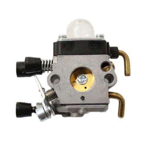 Poweka Replace Zama Carburetor for STIHL FS55 FC55 FS45 C1Q-S71 C1Q-S97 A C1Q-S143 C1Q-S153 C1Q-S186 C1Q-S186 A CIQ S186B 41401200619 4140 120 0619 B by ZY