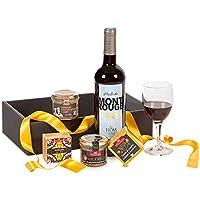"""Ducs de Gascogne -""""Rien que pour vous"""" - comprend 4 terrines et 1 vin - spécial cadeau"""