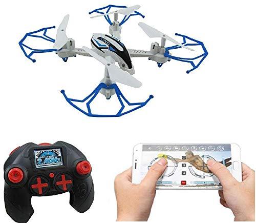 SUPER TOY Wi-Fi Camera RC Drone 360 Flip Quadcopter - Multicolor