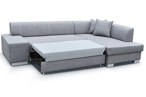 Divano ad angolo Fabian con Funzione letto divano ad angolo Divano ...