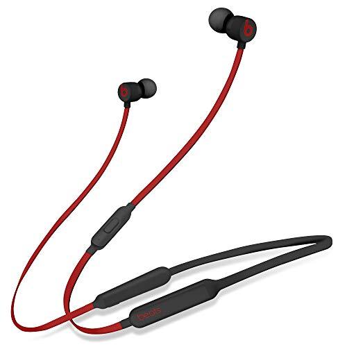 Beats Powerbeats3 Wireless Ear-Hook Headphones Decade Collection Black/Red MRQ92 (Renewed)