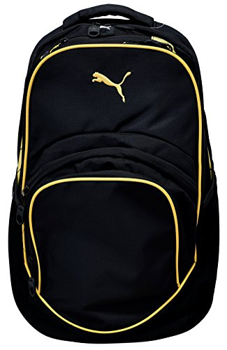 PUMA Teamsport Formation Ball Backpack,Black/Yellow,US