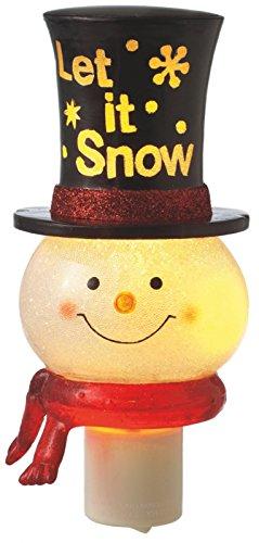 Beaded Snowman Let It Snow Night - Beaded Snowman
