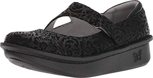 Alegria Womens Dayna Mary Jane Shoe, Minted, Size 37 EU (7-7.5 M US Women) (Alegria Wide Shoes For Women)