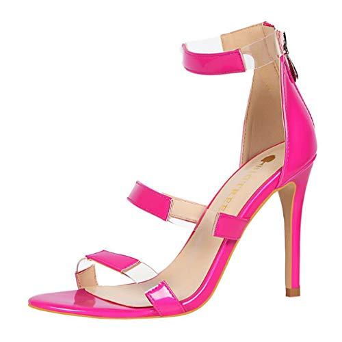 Convient Retour Stiletto Rose Hauts La Les Mode Femmes Jours Vif À Sandales Sexy D'été Pour Simple Vecdy Tous Snouveautés Fashion Talons b76fyYvg