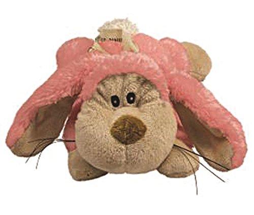 Rabbit Toy Pink - KONG Cozie Floppy the Rabbit, Medium Dog Toy, Pink