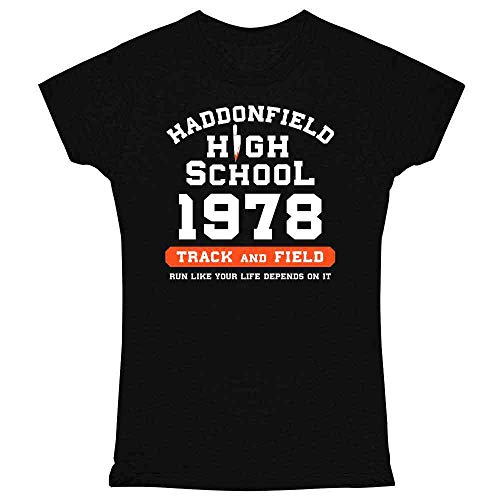 Quotes From The Movie Halloween 1978 (Pop Threads Haddonfield High School 1978 Track Horror Costume Black L Graphic Tee T Shirt for)