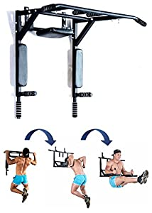 Best Portable Wall Mounted Pull Up Bar Chin Up Bar With