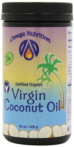 Omega Nutrition Virgin Coconut Oil, 32-Ounce