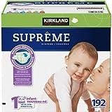 Kirkland Signature™ Supreme Diapers Size 1; Quantity: 192