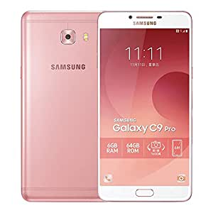 Samsung Galaxy C9 Pro (SM-C900Y/DS) 6GB / 64GB 6.0-inches Dual SIM Factory Unlocked - International Stock No Warranty (Pink)