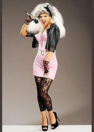 Delights Disfraz de Madonna Rosa Estilo años 80 para Mujer Medium ...