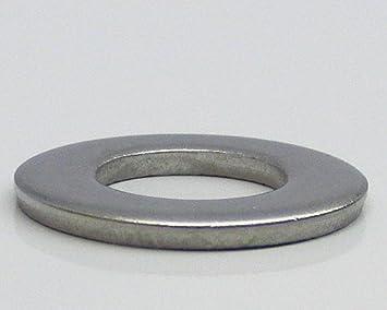 10 Stück Unterlegscheiben M10 DIN 125 V2A Edelstahl U-Scheiben Unterlegscheibe