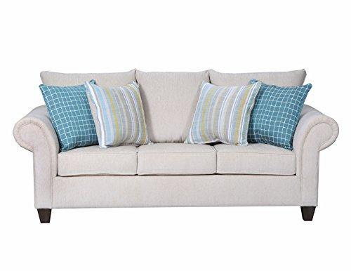 Simmons Upholstery Brando Platinum 8037-04F Sleeper Sofa ()