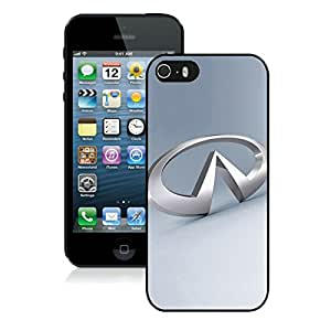 iPhone 5S Infiniti logo Black Phone Case Newest and Grace Design