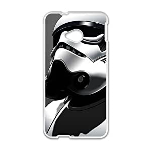 QQQO Silver Robot Hot Seller Stylish Hard Case For HTC One M7