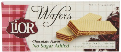 LiOR Sugar-Free Chocolate Wafers, 6.35-o - Chocolate Lemon Sugar Shopping Results
