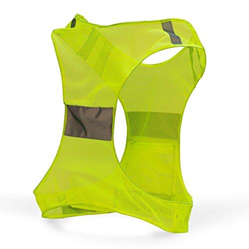 new best reflective running vest w pocket 1 recommended safety gear great for biking. Black Bedroom Furniture Sets. Home Design Ideas