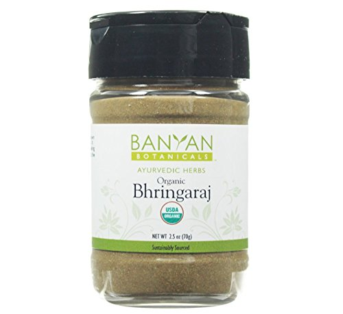 Banyan Botanicals Bhringaraj Powder – Certified Organic, Spice Jar – Eclipta alba – The quintessential Ayurvedic herb…