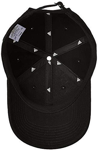uomo Adidas in nero cotone nero da bianco Cappellino 6p tennis wxRIvYcqO