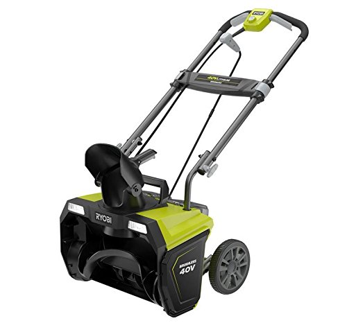 Ryobi 20 in. 40-Volt Brushless Cordless Electric Snow Blower - Battery and Charger Not Included by Ryobi
