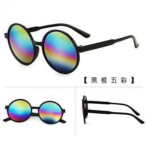 les lunettes de soleil les lunettes de soleil les lunettes de soleil star des lunettes nouveaux visages l'élégance la personnalité la corée du sudboîte noire film bleu (sac) CkEIJ4O