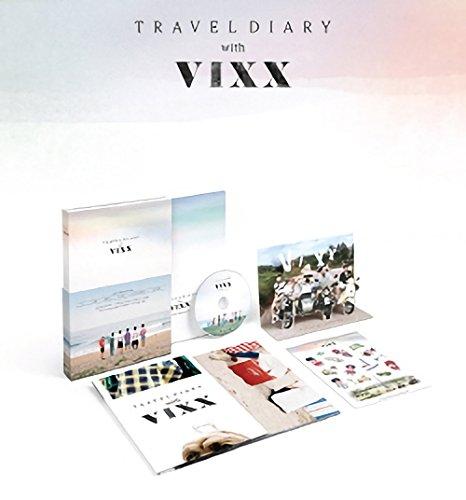 2016 Photobook Travel Diary with VIXX [+ DVD + Secret Envelope + Extra Photocard Set] Photo #4